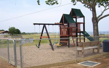 Playground Area at The Edgewater Waterfront Cottages