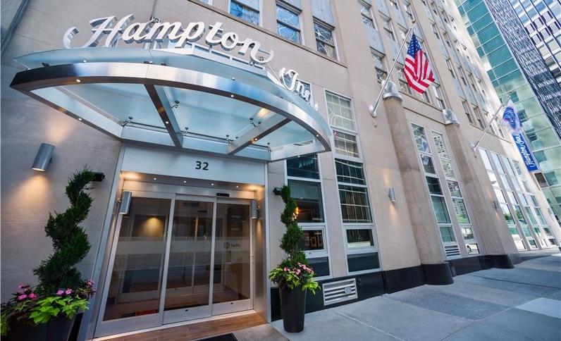 Exterior View of Hampton Inn Manhattan/Downtown-Financial District