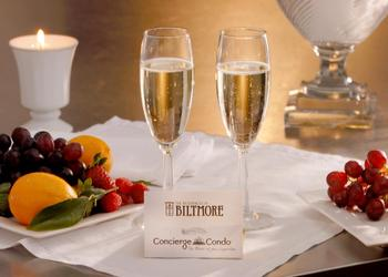 Champagne at The Residences at Biltmore