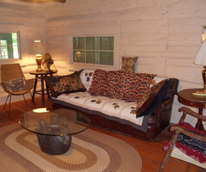 Cabin Interior at Blue Jay Farm
