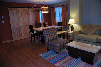 Condo Interior at Inns of Banff