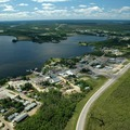 Aerial View of Lac La Ronge Lodge