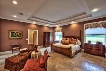 Rental bedroom at Naples Florida Vacation Homes.