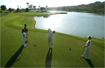 Golf course at The Westin Lake Las Vegas Resort & Spa.