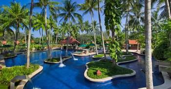 Outdoor pool at Banyan Tree Phuket.
