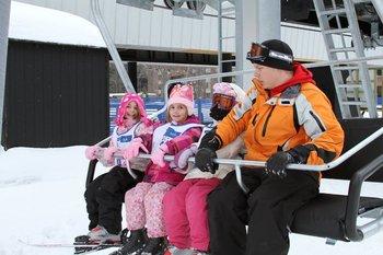 Ski lift at Devils Head Resort & Convention Center.