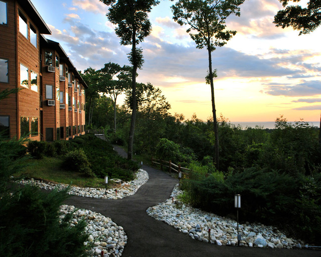 Resort view at Landmark Resort.