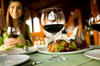 Fine dining at Elk Ridge Resort.