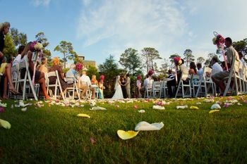 Wedding Ceremony at WaterColor Inn & Resort