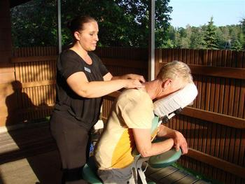 Massage at Madden's on Gull Lake