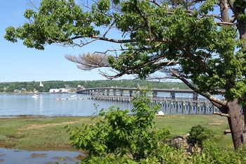Beautiful Harbor View at Sheepscot Harbour Village