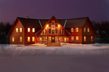 Exterior view at Big Powderhorn Lodging.