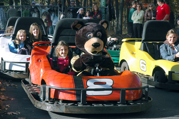 Go-Karts at Woodloch Resort.