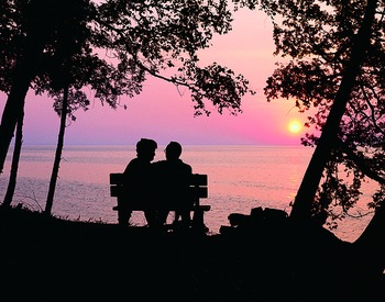 Romantic Sunset at Country House Resort