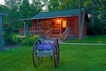 Cabin at Bowman's Oak Hill Bed and Breakfast