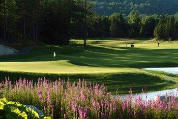 Golf near Fairmont Tremblant Resort.