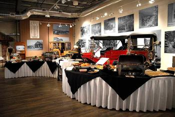Fountainhead Antique Auto Museum catered event near Bear Lodge.