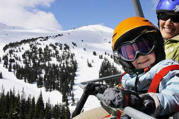 Skiing at Mount Robson Inn.