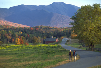Beautiful nature walks at Smugglers' Notch Resort.