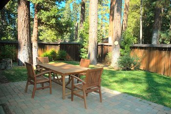 Rental Patio at Tahoe Tavern Properties