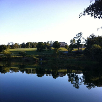 Lake view at The Lodges at Gettysburg.