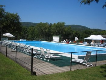 Outdoor pool at Honor's Haven Resort & Spa.