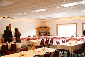 Conference at McQuoid's Inn & Event Center.