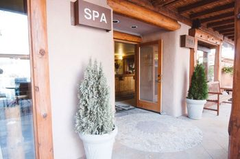 Spa Entrance at Chipeta Solar Springs Resort