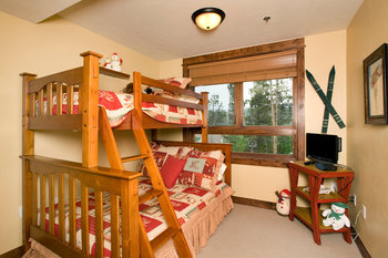 Bedroom at Blue Sky Breckenridge.