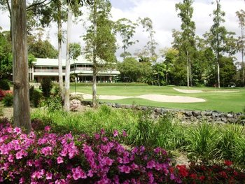 Exterior view of Bonville International Golf Resort and Country Club.