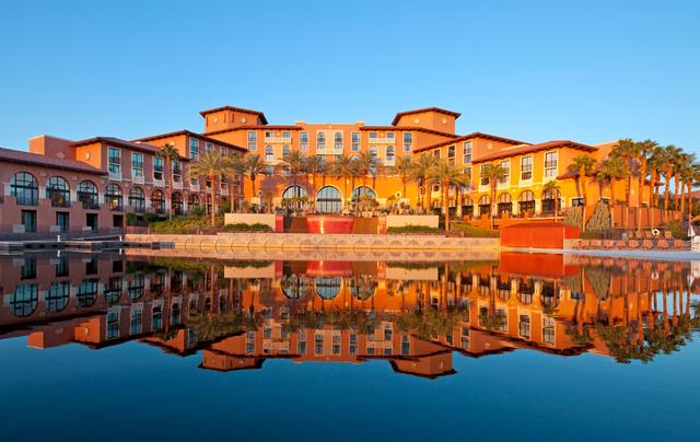 Exterior view of The Westin Lake Las Vegas Resort & Spa.