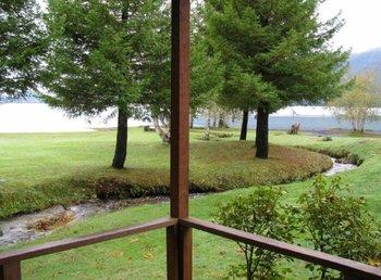 Creek view at Rain Forest Resort.