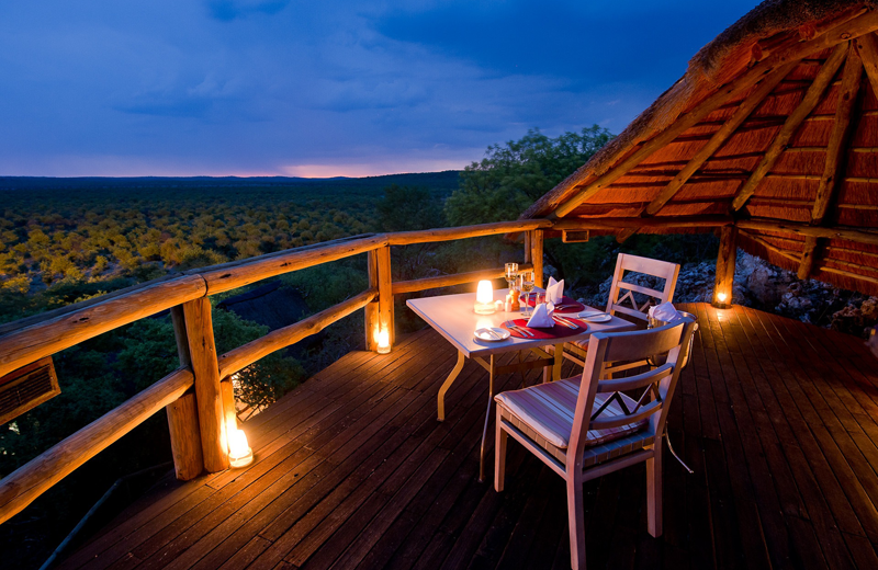View from Ongava Game Reserve.