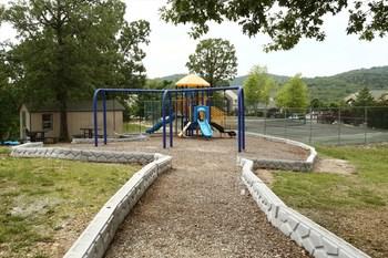 Children's playground at Villas by Lantern Bay.