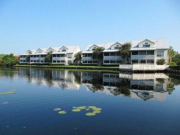 Exterior view of Hidden Dunes Beach & Tennis Resort.