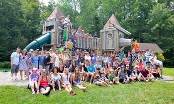 Camp group at Common Ground Center.