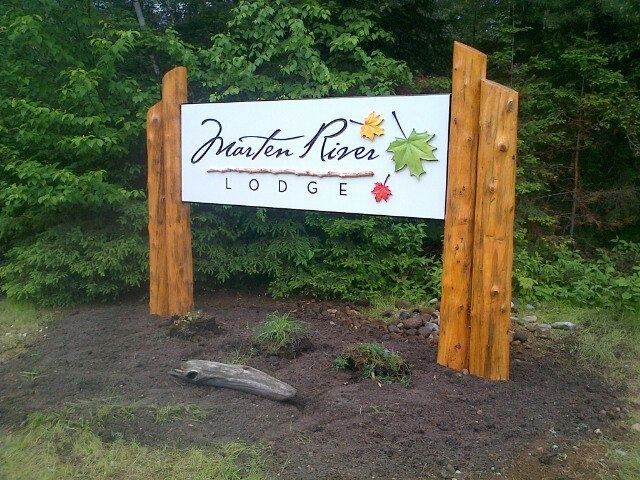 Welcome to Marten River Lodge.