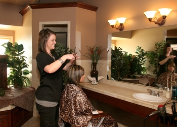 Salon at Tanglewood Resort and Conference Center.