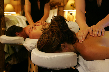 Spa Massages at  Carson Ridge Cabins