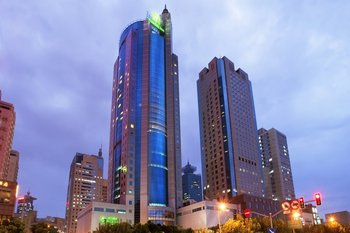 Exterior view of Holiday Inn Pudong Shanghai.