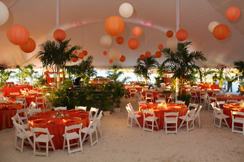 Wedding reception at Sirata Beach Resort.