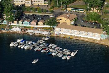Aerial view of Naswa Resort.