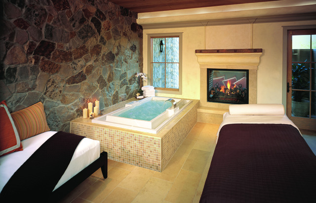 The spa at Villagio Inn and Spa.