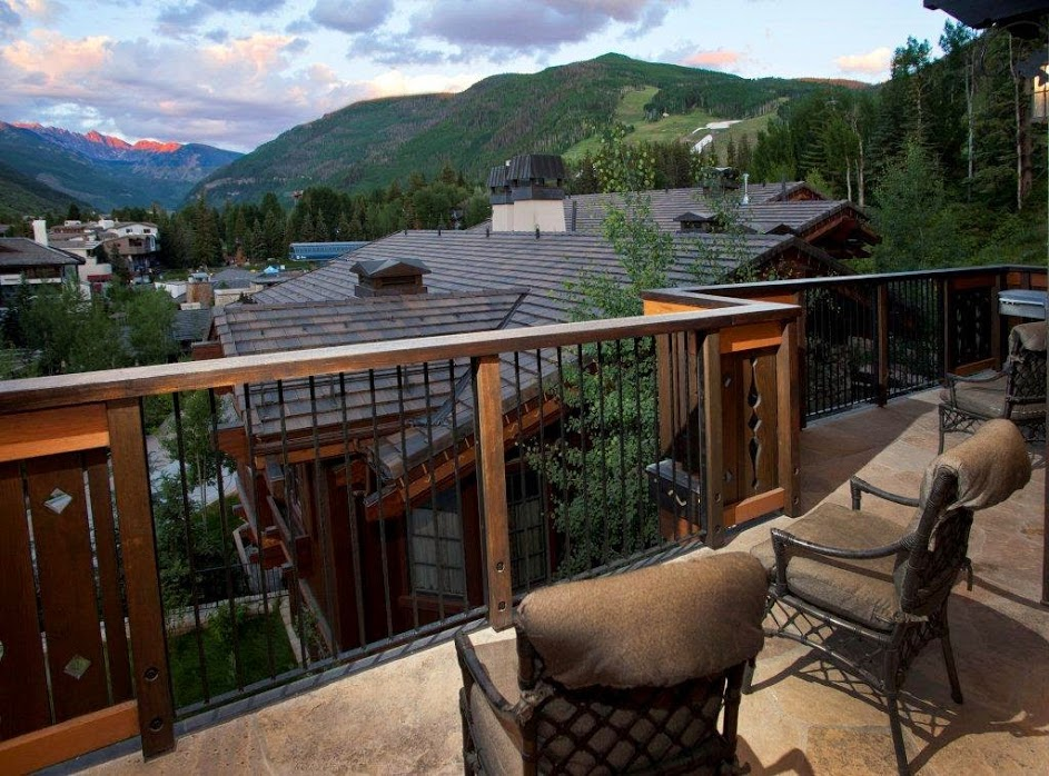 Balcony view at The Lodge At Vail.