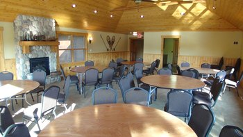 Conference room at Boyd Lodge.