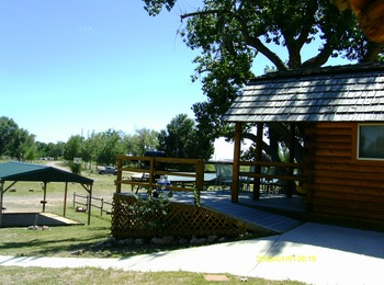 Exterior view at Colorado Springs KOA.