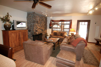 Rental living room at Frias Properties of Aspen - Fasching Haus #170.