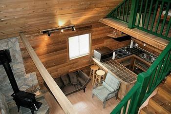 Interior view of Elk Ridge Ranch.