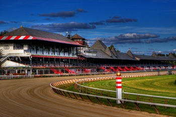 Saratoga Race Track near Batcheller Mansion Inn Bed and Breakfast.