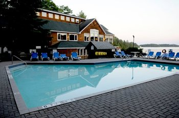 Outdoor Pool at Rocky Crest Golf Resort